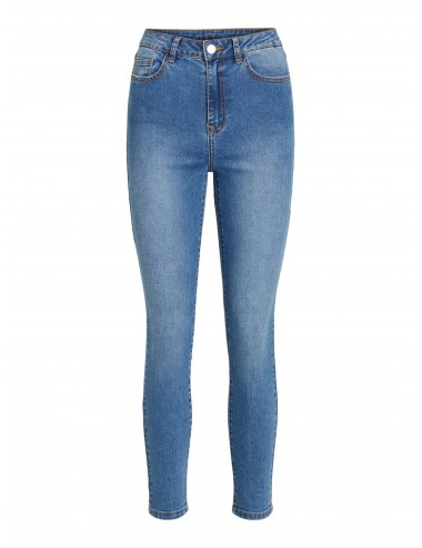 Jeans Cropped High Waisted...